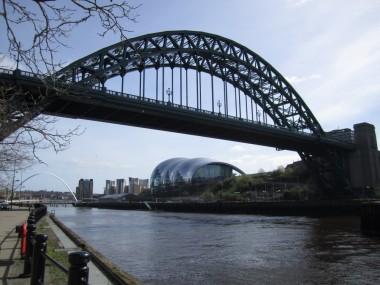 Blick auf Gateshead