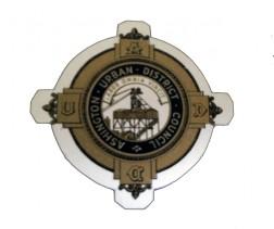 Altes Stadtwappen von Ashington